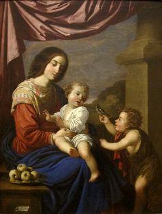 Madonna & Child with the Infant Saint John the Baptist by Francisco de Zurbarán, San Diego Museum of Art