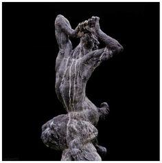 Pan (150-200 AD).  At The Kos Archaeological Museum. Garden Sculpture, Lion Sculpture, Greek Gods, Wild Ones, Stone Carving, Greek Mythology, Deities, Magick, Mystic