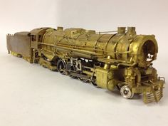 VARIOUS HO BRASS STEAM & DIESEL LOCOMOTIVES AND KITS - Boston & Maine T-1B 2-8-4 for LMB Models by Tetsudo, Exported through KMT in 1963   by bslook1213