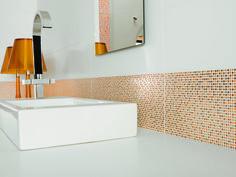 Colección Point. Disponible en 20x60 cm. Acabado Brillante. Gloss surface finished. #point #tauceramica #color #ceramica #tile #revestimiento #walltile #interiordesign #baño #bathroom #detalle #detail www.tauceramica.com www.facebook.com/tauceramica