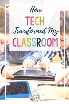 Amazing Benefits of Technology in Your Classroom Technology is amazing in the classroom, and has transformed my teaching. I couldn't recommend it more to other teachers. Click through to learn how tech has changed my classroom for the better! Technology Tools, Technology Integration, Digital Technology, Educational Technology, Futuristic Technology, Energy Technology, Teaching Technology, Business Technology, Medical Technology