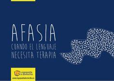 AFASIA: cuando el lenguaje necesita terapia. Marketing, Aphasia, Therapy, First Aid Kid, Speech Language Therapy, Cards, Salud