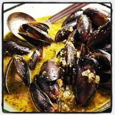 Wish Upon A Chef: Dirty Martini Mussels by Rachael Ray