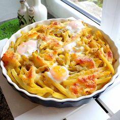 Zapiekana fasolka szparagowa z mozzarellą i jajkami to kolejne proste, smaczne i zdrowe danie. Dietetyczne dania, fasolka szparagowa.