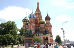 Moscou - Place Rouge - Saint-Basile