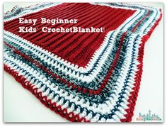 Free Crochet Patterns - Easy Beginner Crochet Blanket
