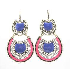 Bohemian Rhapsody chandelier dangle earrings #rbelleboutique #jewelry #earrings #earcandy #statementpiece