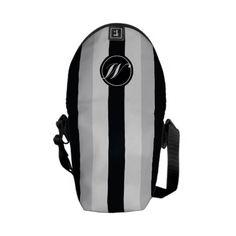 Elegant Sport Pattern and Monogram  Size: Rickshaw Mini Zero Messenger Bag