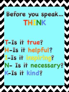 Kindness quotes posters:-Before you speak, think....-If you think someone could use a friend, be one.-Spoken words can't be erased. Don't Blurt what might hurt.-You don't need a reason to help people.-Work hard and be kind. That is all.-One kind word can change someone's entire day.-Give respect and then you will get some back.-Treat others the way you want to be treated.size 8.5x11Thank you!