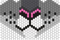 Snow_Leopard_Mask by Heather_Homicyde on Kandi Patterns