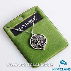 Maxwell Clan Crest Pendant