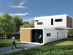 50 разнообразных модульных домов - Сундук идей для вашего дома - интерьеры, дома, дизайнерские вещи для дома