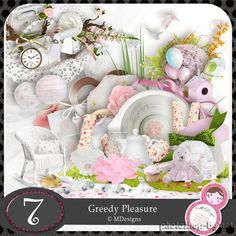 Mild baby scrap kit - Greedy Pleasure