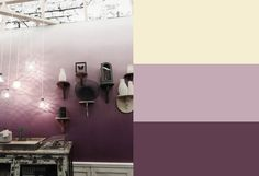 Bedroom Paint Colors Purple Inspiration 24 Ideas For 2019 Ombre Painted Walls, Ombre Walls, Blue Bedroom, Trendy Bedroom, Album Design, Room Colors, Wall Colors, Wall Painting Colors, Purple Painting