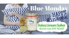 Happy Winweek #5 DIY Soap Kokos Limoen Suiker Scrub