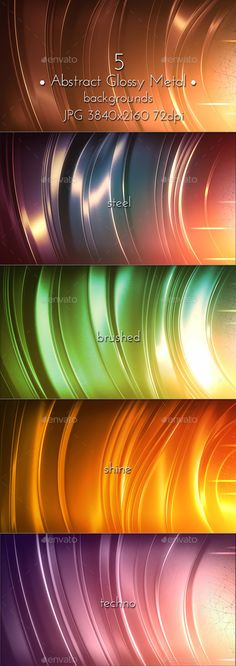 Brushed Metal Glossy Background