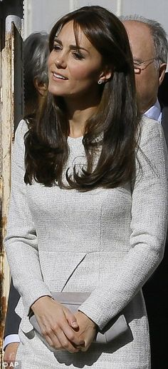 September 25, 2015: Duchess of Cambridge makes secret visit to women's prison to meet inmates battling alcohol and drug addiction. The Duchess is a patron of Action On Addiction. She met with female prisoners and heard how they became addicts and what role addiction has played in their lives. She wore a cream peplum tweed dress by The Fold.