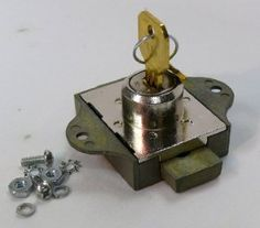 Indiana Cash Drawer Replacement Lock Deadbolt Style by ICD. $42.97. Surface mount. Comes with mounting screws and two keys. OEM packaged.