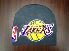 NBA Los Angeles Lakers Bonnet Gris : Casquette Pas Cher