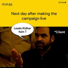 Every client even after getting more leads than their expectations. 😶 . . . #trendingpost #topicalspot #digitalmarketingmemes #digitalmarketingmeme #memedailys #mememarketing #digitalmemes #memeofinstagram #memeofficial #marketingmemes #marketingmeme #socialmediameme Social Media Meme, Marketing Meme, Digital Marketing, Ads, Photo And Video, Memes, Instagram, Meme
