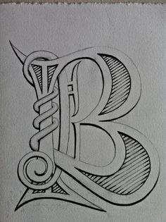 Hand drawn lettering project