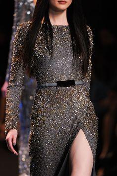 Dark silver dress