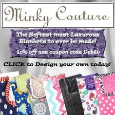 Minky Couture blanket Review & giveaway! ~ PERFECT Holiday Gift For everyone! - Emptynester Reviews