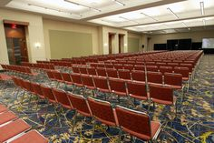 Rooms in Community Choice Credit Union Convention Center can be set to many different setups