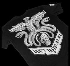 Don't Tread on Me T-shirt - NightRider Jewelry