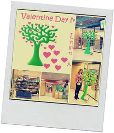 Valentine Day Library Aarnio Tree ystävänpäivä Eero Aarnio puu #Library tree