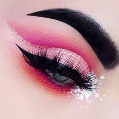 nice Оригинальный макияж с красными тенями — Какому цвету глаз подойдет?