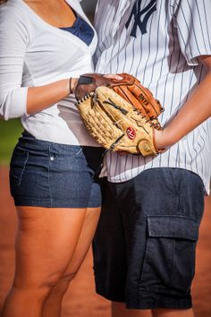 baseball wedding  themed food ideas   Unique Baseball-themed Engagement Session   The Red Dirt Bride