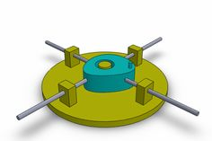 simple cam mechanism - SOLIDWORKS - 3D CAD model - GrabCAD