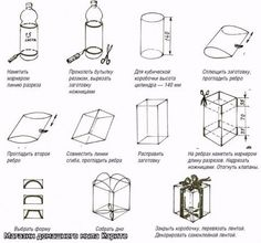 How to make a box out of plastic bottle