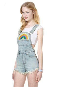 UNIF Rainbow Jumper | Shop Sale at Nasty Gal