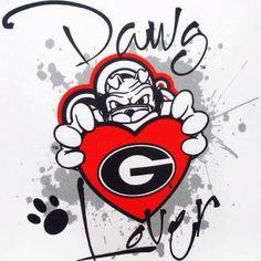 Georgia Dawgs (nice tattoo perhaps) Georgia College, Georgia Girls, University Of Georgia, Athens Georgia, Bulldog Wallpaper, Georgia Bulldogs Football, Bulldog Tattoo, College Football Teams, Football Football