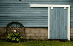 Blue Barn by Bright Young Things on Creative Market