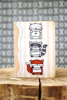 3 amigos {mama elephant stamp highlight} (2.18.15)