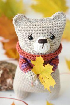 Simplest teddy bear ever   by lilleliis