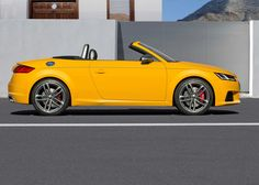 10+ Nice 2015 Audi TTS Roadster Side View Wallpapers