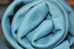 Stoffonkel - Bio-Bündchen Soft-Rib Uni-Blau  #stoffonkel #fabric #BIO #softrib #uni #cotton #rib #blue