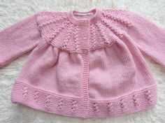 Hand Knit Baby Set by jayceeoriginals on Etsy