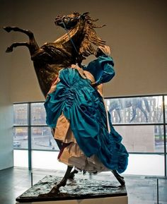 Mary Sibande, South African sculptor: Africa Knight