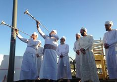 Cohanim priests taking part in the Passover ritual Photo By: JEREMY SHARON