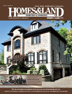 Browse homes for sale and more in the latest digital issue of Homes & Land of Demeures & Domaines, Quebec #homesandlandmagazine #realestate