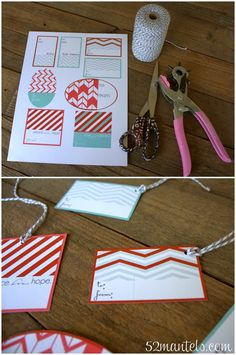 {free!} Printable Christmas Tags