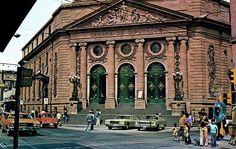Antigua Cámara de Diputados  en la calle de Donceles, en el Centro Histórico de la Ciudad de México.