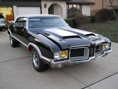Muscle Cars Oldsmobile : 442 CUTLASS 442 W-30 1971 OLDS 442 CUTLASS OLDSMOBILE W-30 4-SPEED CONVERTIBLE