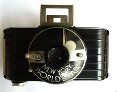 Art Deco 1939 NY Worlds Fair KODAK Camera Bakelite (this pin is for Ernest)