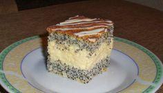 : mazurek makowo-kokosowy (na białkach)